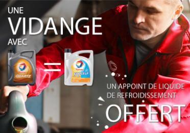 Une vidange = Un appoint GRATUIT de liquide de refroidissement  Votre voiture vous dira merci!