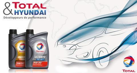 Partenariat Total Hyundai