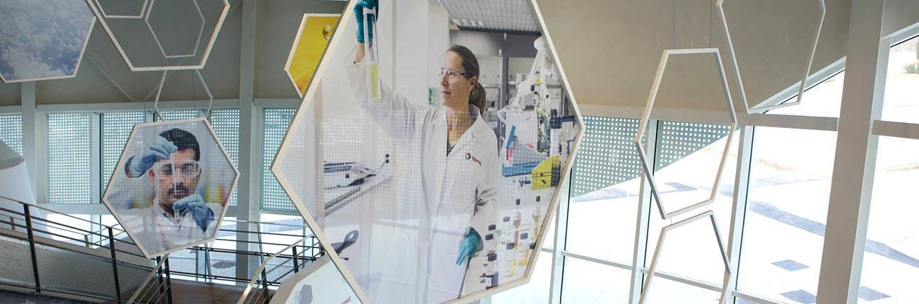 TOTAL recherche ret développement des bitumes